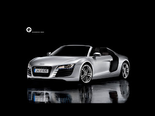 Fond d'écran Audi R8 Convertible wallpaper
