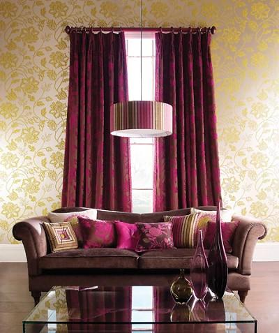 Curtain finials wood