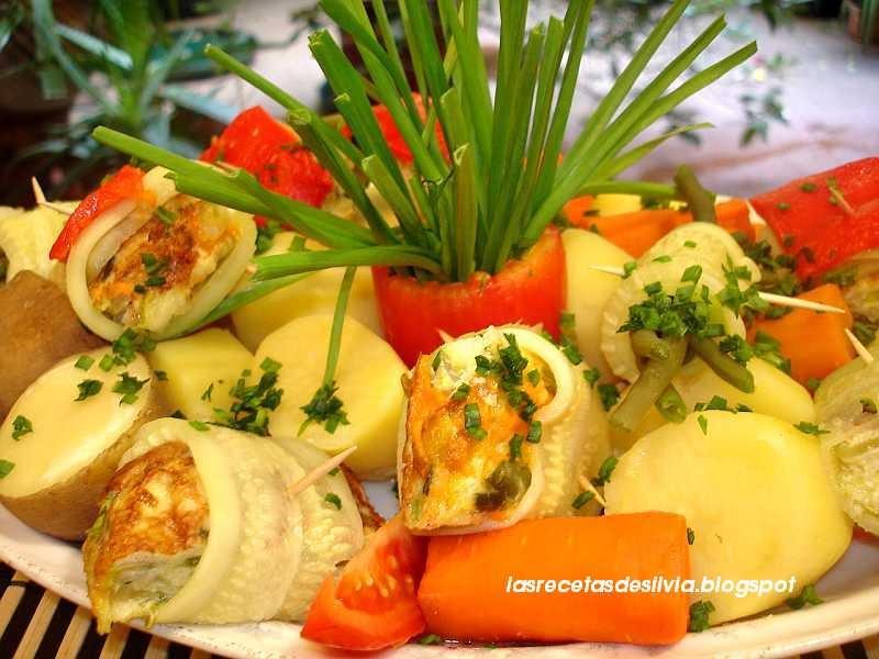 Las recetas de silvia cocinar con verduras orientales Cocinar con 5 ingredientes