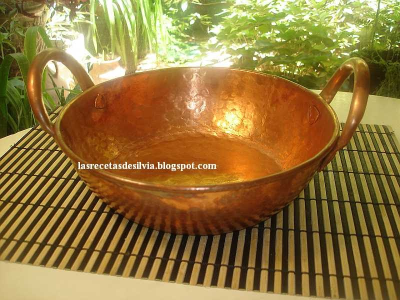 Las recetas de silvia cocinar en ollas de cobre - Cazuelas de cobre ...