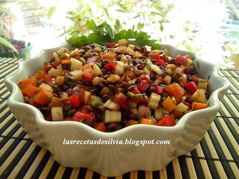 las recetas de silvia como preparar y cocinar lentejas
