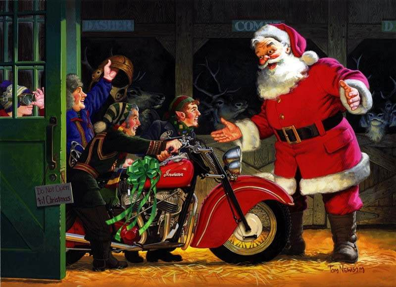 Events And Gossips Festive Santa Claus By Tom Newsom