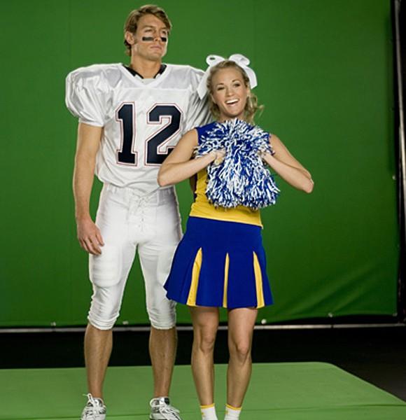 Carrie UnderwoodCarrie Underwood In High School