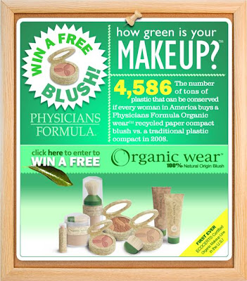 pf image Physicians Formula Organic Wear Blush Giveaway