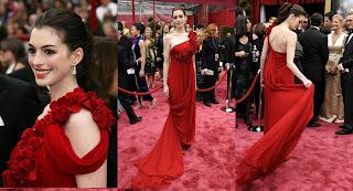 AnneHathaway Oscars 2008 Red Carpet Recap