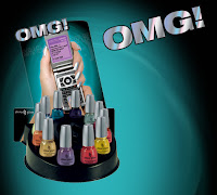 omg display4 China Glaze Nail Collections: Spring & Summer 2008