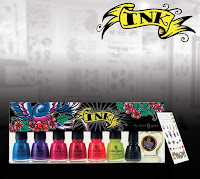 ink displ4 China Glaze Nail Collections: Spring & Summer 2008