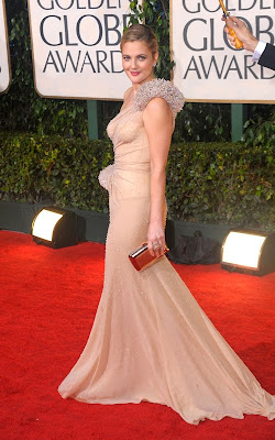 golden+globes+2010+drew+barrymore Golden Globes Gorgeous 2010: Drew Barrymore