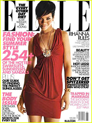 rihanna+elle+june Rihanna's On The Cover Of Elle (Ella Ella Eh Eh Eh)