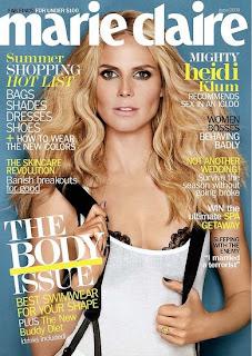 heidi+klum+marie+claire+2008 Get Heidi Klums Marie Claire Cover Look