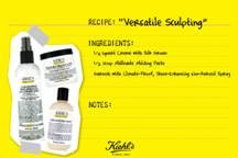 kiehls+recipe+card Thursdays at Kiehls: Natural Recipes for Healthy Hair