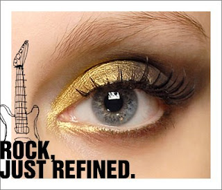 mac+gold+mined Back To The Future: Fall 2008 Beauty Trends