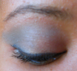 lise+watier+eye+closed Warm and Fuzzy Eyeshadow: Lise Watier Cachemires Bleu Quartet