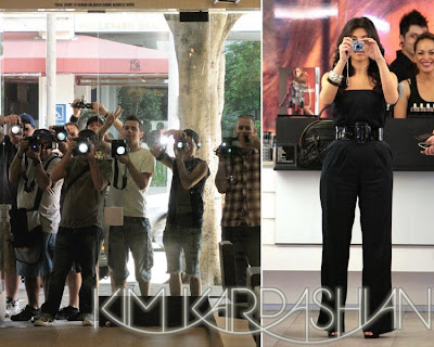 gallery enlarged leader kim snaps back Kim Kardashian Hits Up MAC, And Snaps The Paps