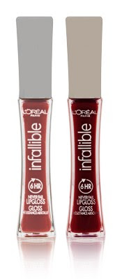infallible Recessionista's Fabuless Pick of the Week: L'Oreal Infallible Never Fail Lip Gloss