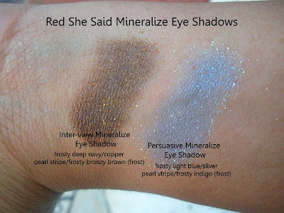 mac+red+she+said+eye+shadows MAC Ungaro, Cremesheen and Holiday Swatches
