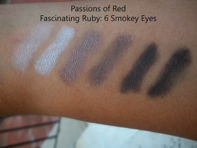 mac+passions+of+red+smokey+eyes MAC Ungaro, Cremesheen and Holiday Swatches