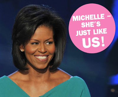 michelle+obama+just+like+us Our Future First Lady: Shes Just Like Us!