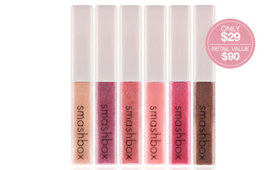 smashbox+rapture+lip+gloss+set Smashbox: Try 4 Jumbo Samples 4 Free!