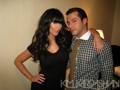 kim+kardashian+bangs Kim Kardashian: Snip Snip Bang Bang