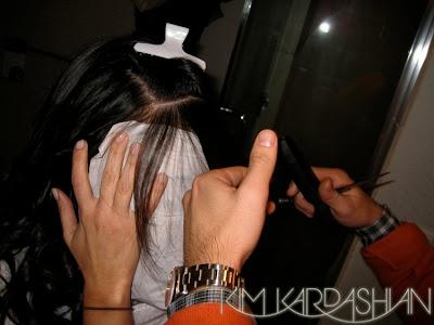kim+kardashian+bangs+2 Kim Kardashian: Snip Snip Bang Bang
