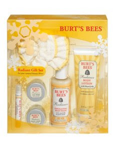 burts+bees+radiance+gift Spoiling You Pretty Just Comes Naturally: Burts Bees Giveaway!