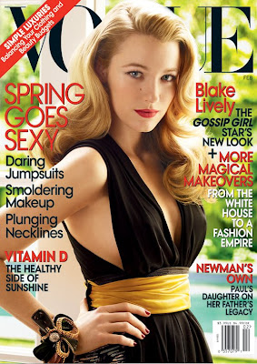 blake+lively+vogue Spotted: Blake Lively on the Cover of Vogue