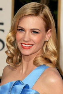 january+jones Golden Globes Gorgeous: January Jones