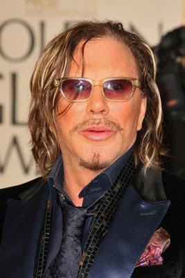 mickey+rourke Golden Globes: Hot Mess Brigade