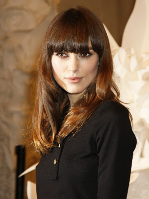keira+knightley+chanel+beaute1 Keira Knightley At Chanel Haute Couture Spring/Summer 2009 Show