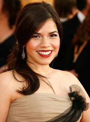 america+ferrera+sag+2009 SAG Awards Beauty: America Ferrera