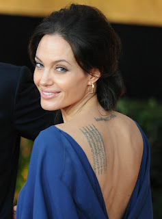 angelina+jolie+sag+hair2 David Babaii Shares His Tips For Achieving Angelina Jolies SAG 2009 Hair