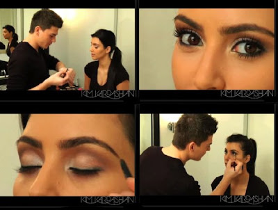 kim+kardashian+and+mario+makeup Kim Kardashian Vegas Magazine How To Makeup Video: Part 3
