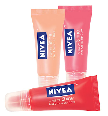 nivea a kiss of shine Dont Forget to Enter the Nivea Lip Care Giveaway!