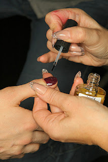 dkny 5 New Fall Manicure Trends Emerge at New York Fashion Week, Fall 2009