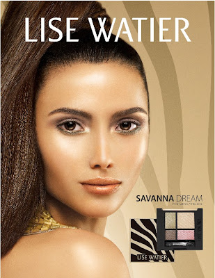 LiseWatier Savanna dreams Urban Jungle: Lise Watier Savanna Dream Spring 2009 Collection