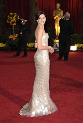 anne hathaway academy awards 2009 Oscars 2009 Beauty: Anne Hathaway