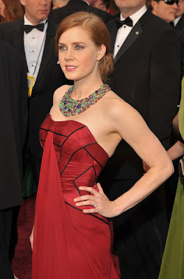 amy adams oscars 2009 dress Oscars 2009 Beauty: Amy Adams