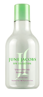 JJ vanda orchid shower gel June Jacobs Vanda Orchid Collection Giveaway!
