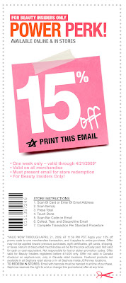 Sephora coupons in store printable