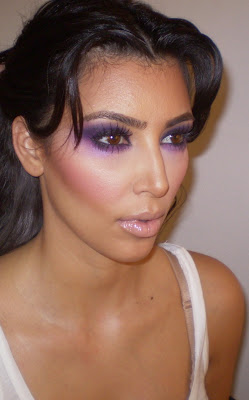 kim+kardashian+mermaid+makeup Pretty In Purple: Get Kim Kardashians Mermaid Makeup