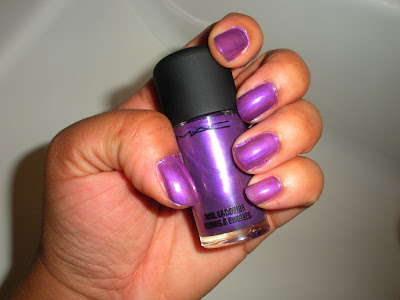 MAC Violet Fire Nail Lacquer