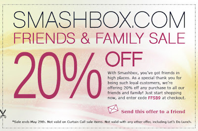 smashbox+friends+and+family Smashbox Friends & Family: Take 20% Off