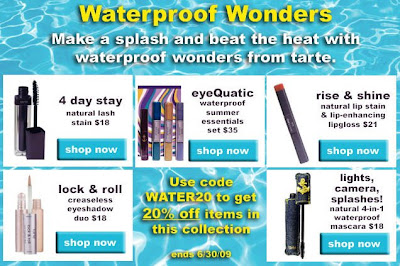waterproof+sale+tarte Take 20% Off Waterproof Wonders at Tarte