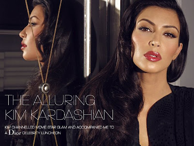kim+kardashian+dior+makeup+troy+jensen Kim Kardashians Old Hollywood Makeup Look, Created by Troy Jensen