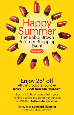 bobbi+brown+sale Bobbi Brown Summer Shopping Event: 25% Off!