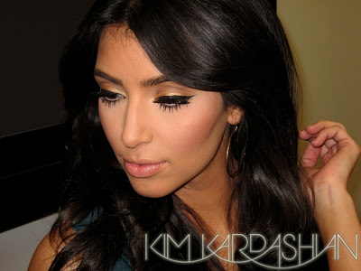 Kardashian  Makeup on Kim Kardashian Smokey Eye Look Kim Kardashian Simple Make Up