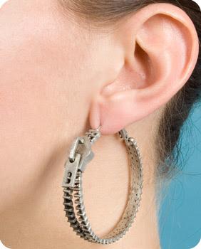 zipper+earrings+2 Zip It