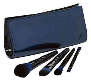 lancome+declaring+indigo+makeup+brush+set Lancmes Declaring Indigo Fall 2009 Color Collection