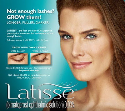 brooke+shields+latisse Latisse Might Turn Your Blue Eyes Brown
